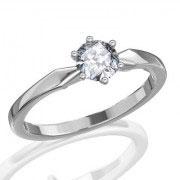 Кольцо с бриллиантами на заказ. Форма 004. Аукцион бриллиантов DGTS.RU.