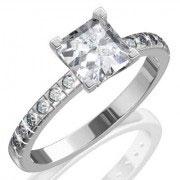 Кольцо с бриллиантами на заказ. Форма 014. Аукцион бриллиантов DGTS.RU.
